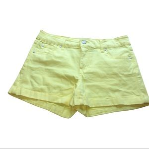 3/$21 Celebrity Pink Yellow Shorts